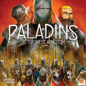 Paladins of the West Kingdom (Kickstarter with Promos & Metal Coins)